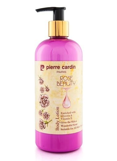 Pierre Cardin Gül Özlü Besleyici ve Nemlendirici Vücut Losyonu - 400 ML Renksiz